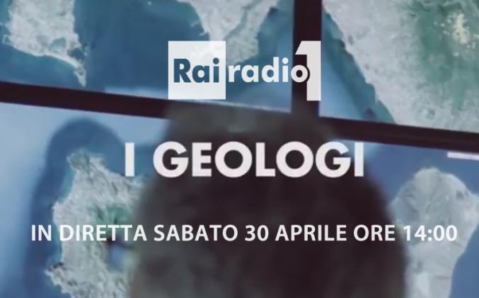 RADIO RAI 1 con i Geologi ai Campi Flegrei