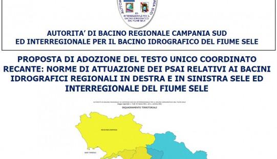 12/10/2016 Short Course Nuove Norme di Attuazione Autorita' di Bacino Campania Sud (BURC n.190 del 16/08/16)