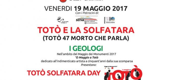 """19 Maggio 2017 – Evento """"LA SOLFATARA UN VULCANO CHE ISPIRA E RESPIRA"""""""