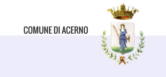 Comune di Acerno (SA) – Avviso Pubblico