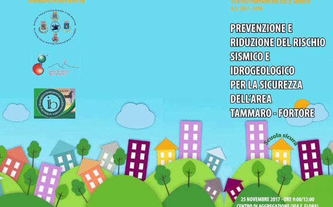 """Evento """"Prevenzione e riduzione del rischio sismico e idrogeologico"""""""