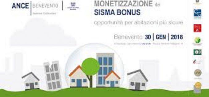 30/01/2018 Convegno Monetizzazione del Sisma Bonus opportunità per abitazioni più sicure