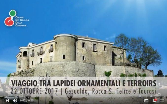"""Video """"Viaggio tra lapidei ornamentali e terroirs – Convegno Gesualdo"""""""