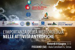 """Convegno """"L'importanza della meteorologia nelle attività antropiche"""" – 8 Giugno 2018"""