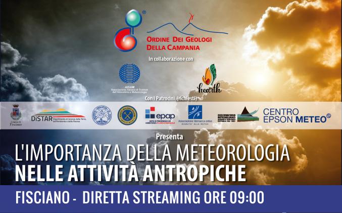 """Video: """"L'importanza della meteorologia nelle attività antropiche"""""""