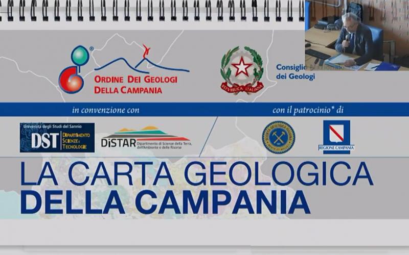 """Video """"Presentazione della Carta Geologica della Campania"""""""