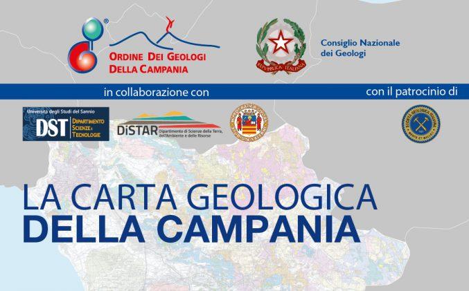 """10/10/18 Convegno """"La Carta Geologica della Campania"""" [ISCRIZIONI APERTE]"""