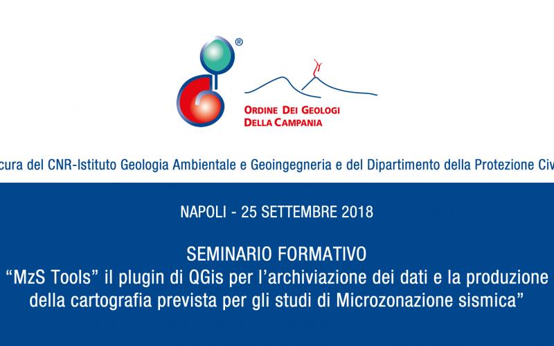Napoli – Seminario formativo su MzS Tools, plugin di QGis