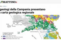 Il Mattino – I geologi della Campania presentano la carta geologica regionale