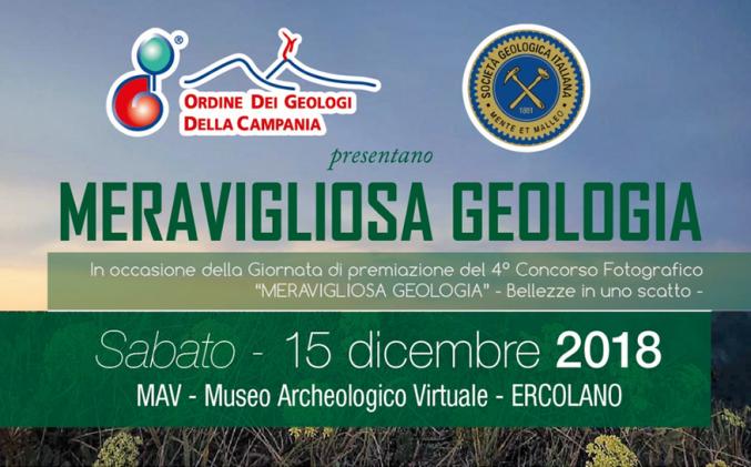 """Evento """"Meravigliosa Geologia"""" – 15 dicembre 2018"""