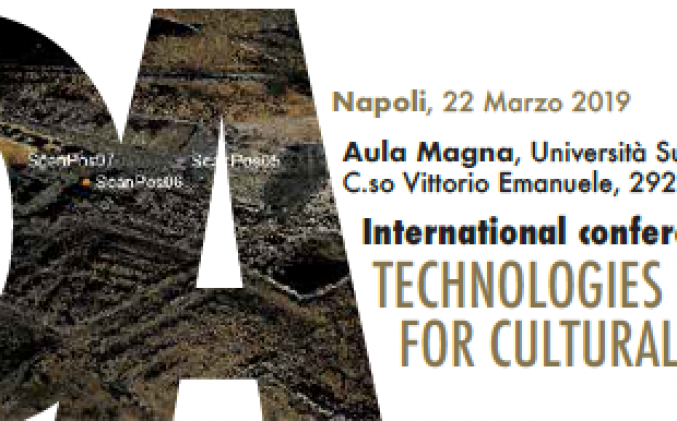 22/03/19 International Conference Technologies & Digital Artefacts for Cultural Heritage