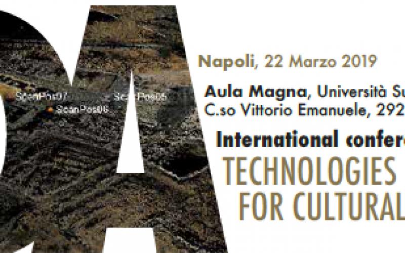 22/03/19 International Conference Technologies & Digital Artefacts for Cultural Heritage