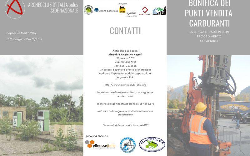 28/03/18 BONIFICA DEI PUNTI VENDITA CARBURANTI