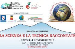 """Convegno """"La Scienza e la Tecnica Raccontate"""". Napoli, 4 novembre 2019"""