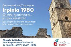 Geoescursione Convegno: Irpinia 1980: quasi quaranta… e non sentirli!