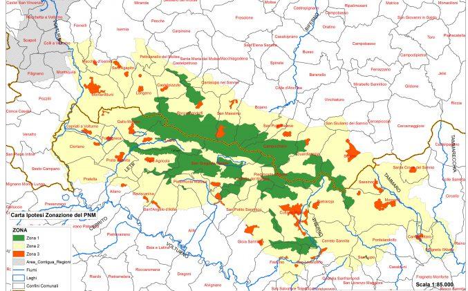"""Ente Parco Regionale del Matese:  trasmissione """"elaborati proposta"""" relativi al procedimento di istituzione del Parco Nazionale del Matese"""