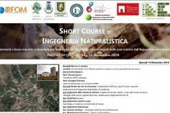 14 – 15 Novembre 2019 – Short Course di ingegneria naturalistica – Buonalbergo (BN)