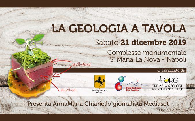 "Evento ""La geologia a Tavola"""